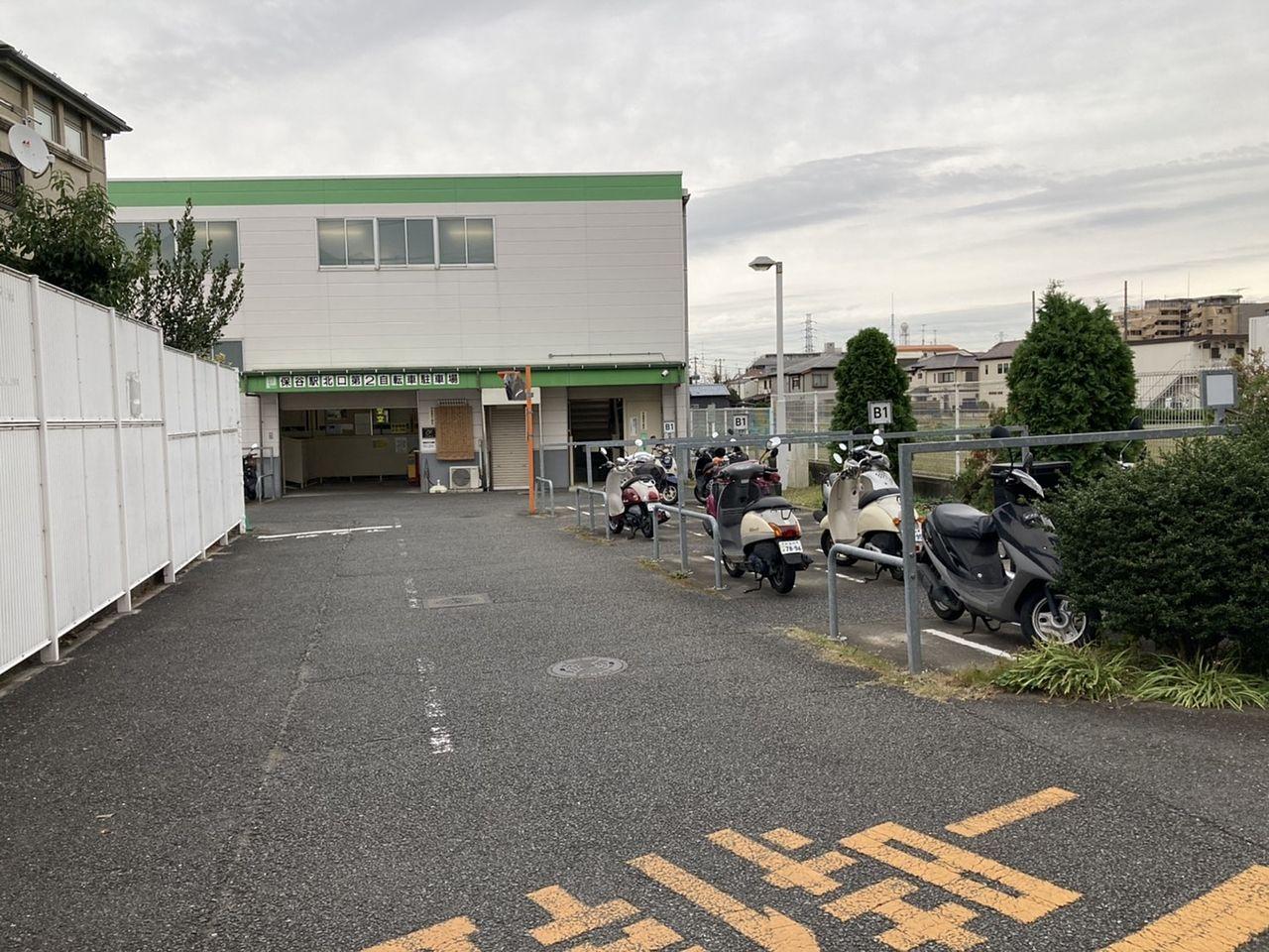保谷近辺(北口)の駐輪場 NO3