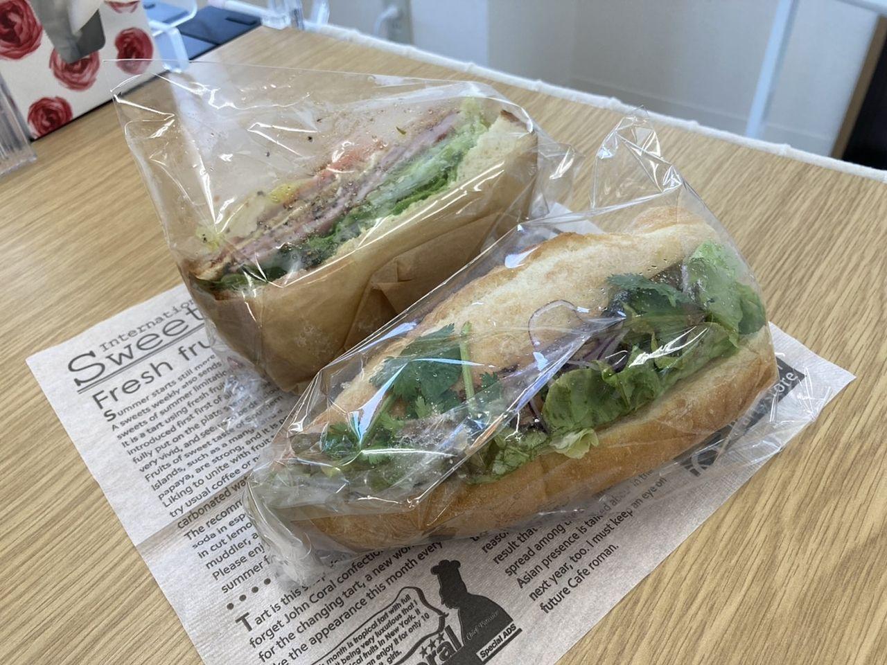 NEWオープン グッデイ サンドイッチ