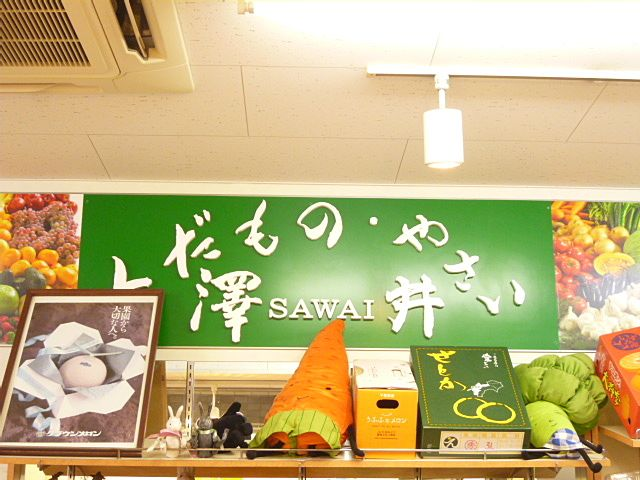 保谷駅 八百屋さん 澤井商店