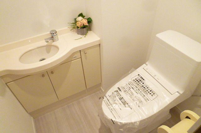 手洗いつきトイレ
