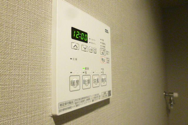 暖房や乾燥ができます。